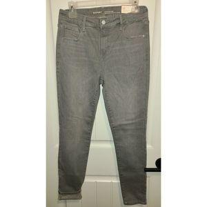 Old Navy Rockstar gray jeans new 10